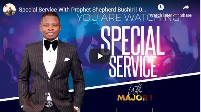 Special Service With Prophet Shepherd Bushiri November 4 2020