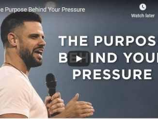 Steven Furtick Sermon - The Purpose Behind Your Pressure