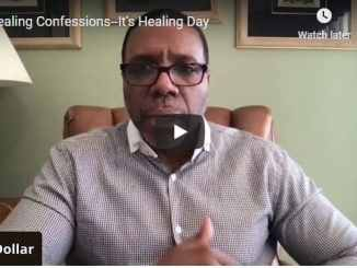 Creflo Dollar Sermon - Healing Confessions ... It's Healing Day