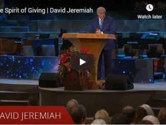 David Jeremiah Sunday Sermon December 6 2020
