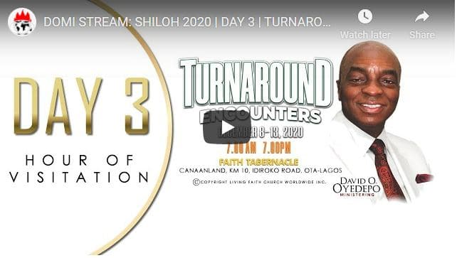Day 3 - Shiloh 2020 Live Stream - Turnaround Encounters