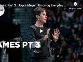 Joyce Meyer Sermon - James