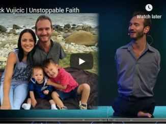 Pastor Nick Vujicic Sermon - Unstoppable Faith