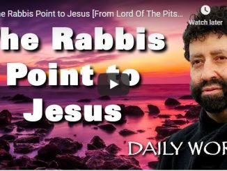 Rabbi Jonathan Cahn Sermon - The Rabbis Point to Jesus