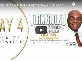 Shiloh 2020 - Day 4 - Turnaround Encounters - Live Stream