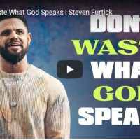 Steven Furtick Sermon - Don't Waste What God Speaks