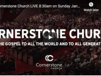 Cornerstone Church Sunday Live Service January 10 2021