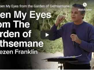 Jentezen Franklin Sermon - open my eyes from the garden of Gethsemane