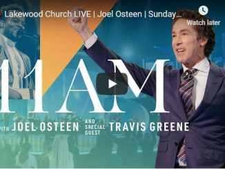 Lakewood Church Sunday Live Service January 10 2021