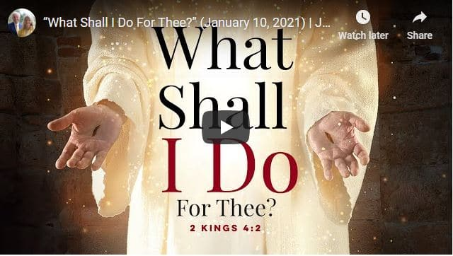 """Pastor Jesse Duplantis Sermon - """"What Shall I Do For Thee?"""""""