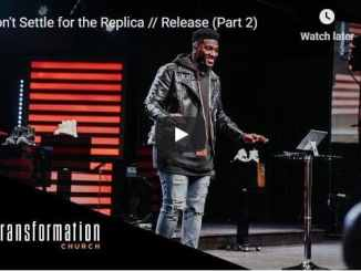 Pastor Michael Todd Sermon - Don't Settle for the Replica