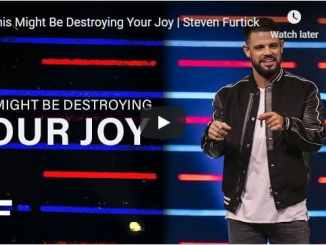 Pastor Steven Furtick Sermon - This Might Be Destroying Your Joy