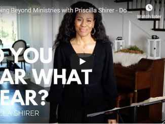 Priscilla Shirer - Do You Hear What I Hear? - Going Beyond Ministries