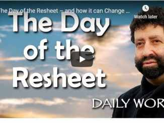 Rabbi Jonathan Cahn Sermon - The Day of the Resheet