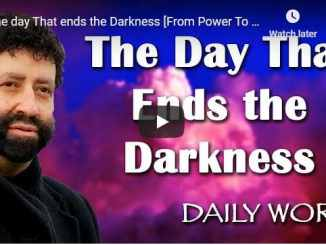 Rabbi Jonathan Cahn Sermon - The day That ends the Darkness