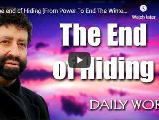 Rabbi Jonathan Cahn Sermon - The end of Hiding