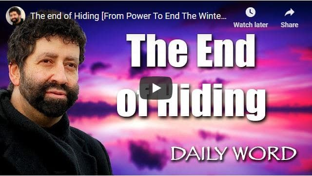 Rabbi Jonathan Cahn Sermon - The end of Hiding