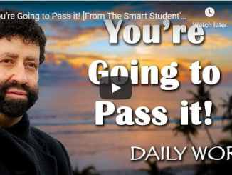 Rabbi Jonathan Cahn Sermon - You're Going to Pass it