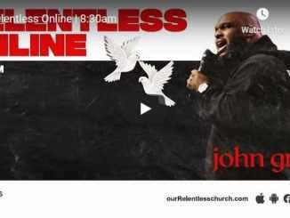 Relentless Church Sunday Live Service January 10 2021