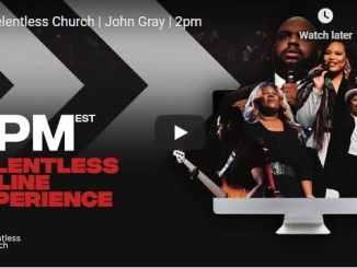 Relentless Church Sunday Live Service January 3 2021