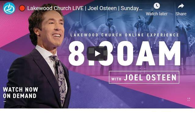 Lakewood Church Sunday Live Service February 21 2021