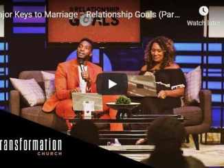 Michael Todd & Natalie Todd - Major Keys to Marriage : Relationship Goals