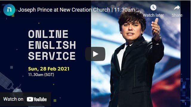 New Creation Church Sunday Live Service February 28 2021
