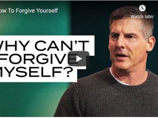 Pastor Craig Groeschel Sermon - How To Forgive Yourself
