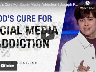 Pastor Joseph Prince Sermon - God's Cure For Social Media Addiction