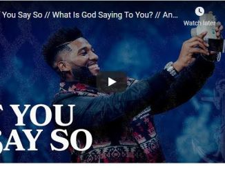 Pastor Michael Todd Sermon - If You Say So // What Is God Saying To You