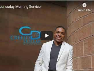 Wednesday Morning Service With Pastor Creflo Dollar