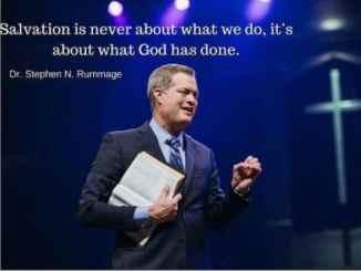 Pastor Stephen Rummage