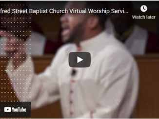 Alfred Street Baptist Church Sunday Live Service March 21 2021