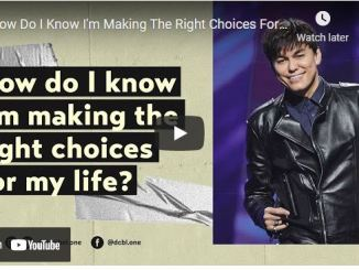 Joseph Prince - How Do I Know I'm Making The Right Choices For My Life
