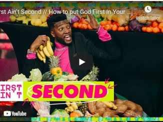 Michael Todd - First Ain't Second // How to put God First In Your Life?