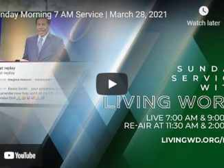 Pastor Bill Winston Sunday Live Service March 28 2021