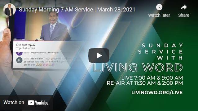 Pastor Bill Winston Sunday Live Service March 28 2021