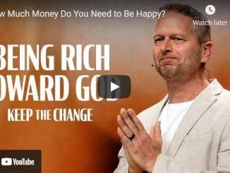 Pastor Chris Beall - How Much Money Do You Need to Be Happy?
