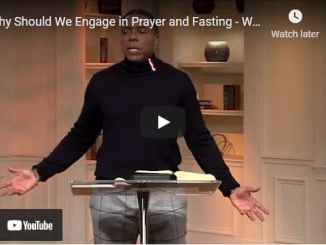 Pastor Creflo Dollar - Why Should We Engage in Prayer and Fasting