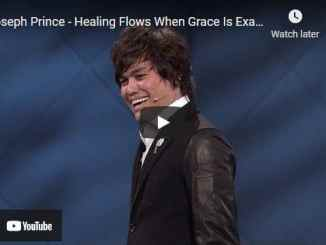 Pastor Joseph Prince - Healing Flows When Grace Is Exalted