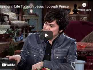 Pastor Joseph Prince & KCM - Reigning in Life Through Jesus