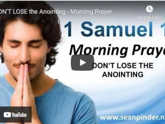 Pastor Sean Pinder Morning Prayer For March 26 2021