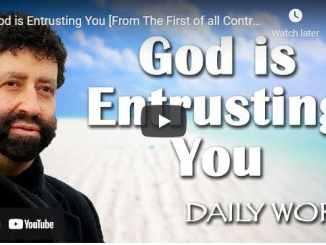Rabbi Jonathan Cahn Message - God is Entrusting You