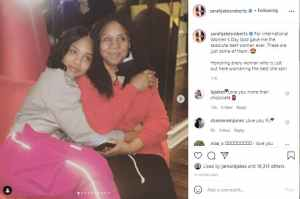 See How Sarah Jakes Roberts Celebrated These Women on Women's day