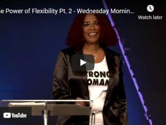 Taffi Dollar Message - The Power of flexibility | Wednesday morning service