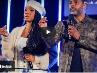 Easter Sunday Service With Sarah Jakes and Toure Roberts At TPHLA