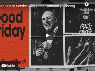 Good Friday Service At Hillsong Church With Pastor Brian Houston
