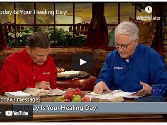 Kenneth Copeland & Professor Greg Stephens - Today Is Your Healing day