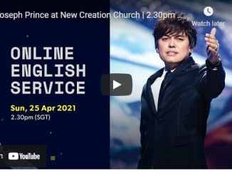 New Creation Church Sunday Live Service April 25 2021
