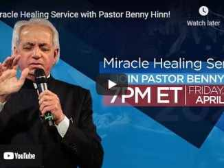 Pastor Benny Hinn - Miracle Healing Service